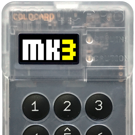 coldcard mark 3