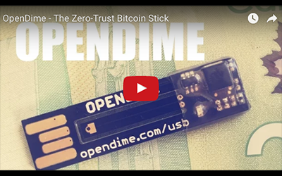 Friends of Satoshi Opendime Video: The Zero-Trust Bitcoin Stick
